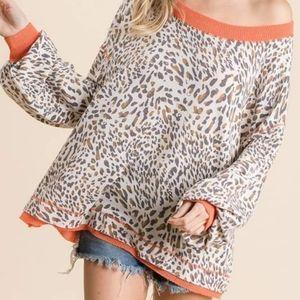 Ces Femme Animal Print Sweater